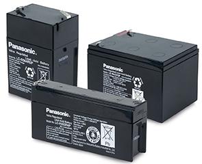 Blybatterier Panasonic