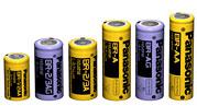 Cylindriske batterier Panasonic