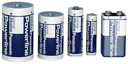 Alkaline Panasonic Powerline