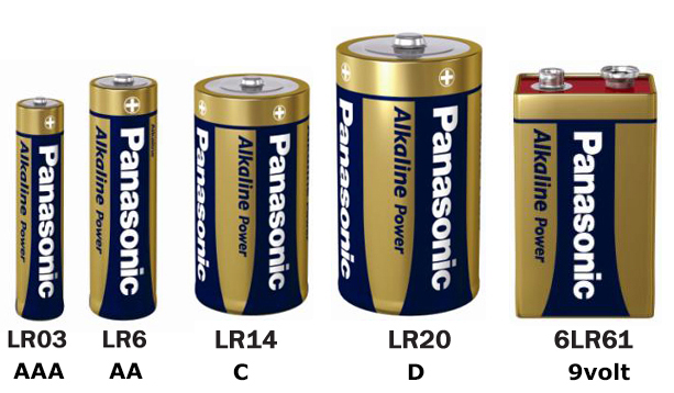 Alkaline Power engangsbatterier