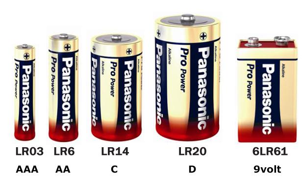 Alkaline ProPower engangsbatterier