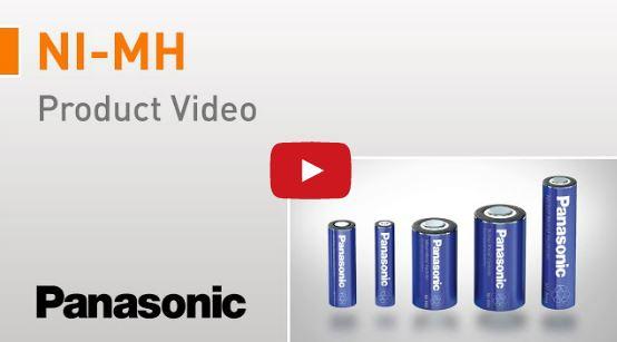Panasonic Ni-MH Batterier