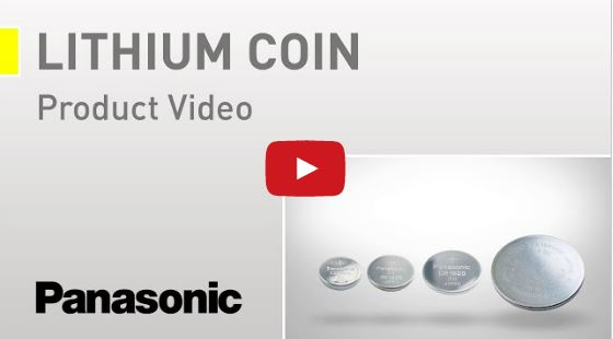 Panasonic Lithium knapceller