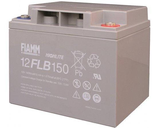 12V/40Ah FIAMM 12 års Blybatteri UPS 12FLB150