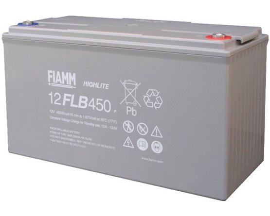 12V/115Ah FIAMM 12 års Blybatteri UPS 12FLB450