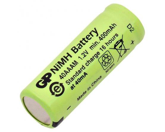 GP-40AAAM genopladeligt Ni-MH batteri flad top