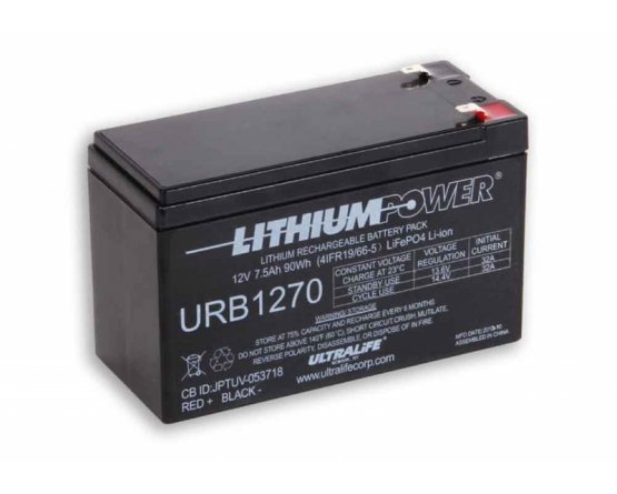 Ultralife LFP URB1270 LiFePO4 batteri