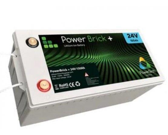 PowerBrick LiFePO4 batteri 24V/150Ah