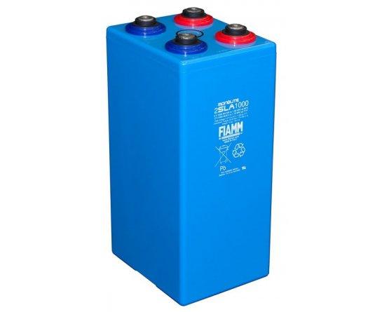 2V/1025Ah FIAMM SLA Blybatteri 2SLA1000