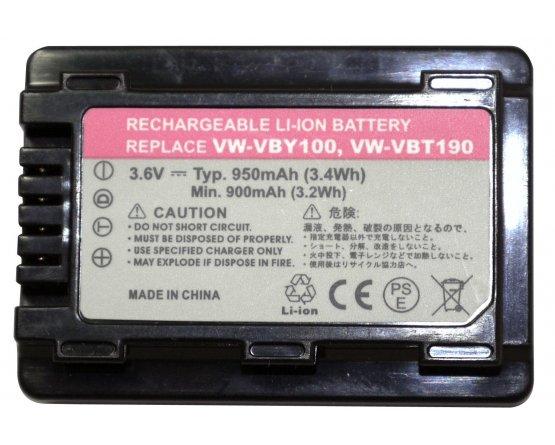Panasonic HC-V110 batteri VW-VBY100