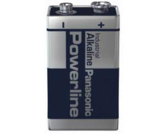 9Volt/6LR61 Powerline batteri/1pak