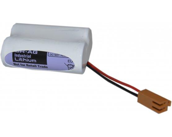 Lithium batteri ledning+stik Panasonic