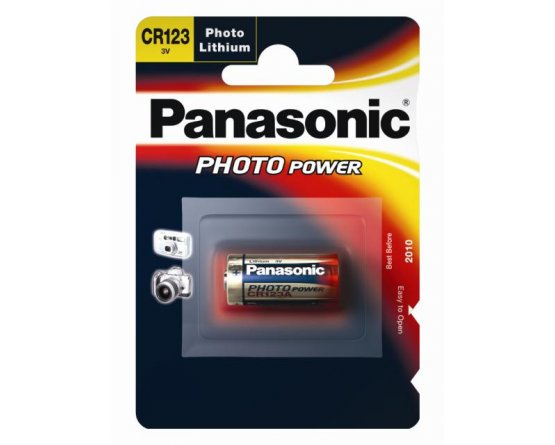 CR123A Lithium foto batteri Panasonic