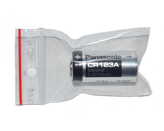 CR123A Lithium Foto batteri Panasonic Industri pak