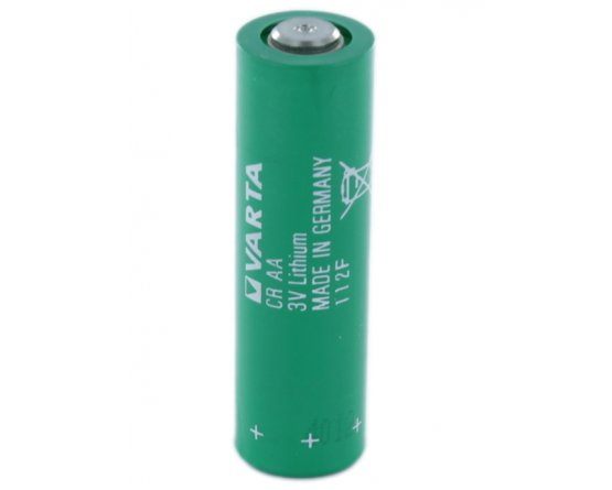 CR-AA Varta Lithium batteri R6 med U-flige