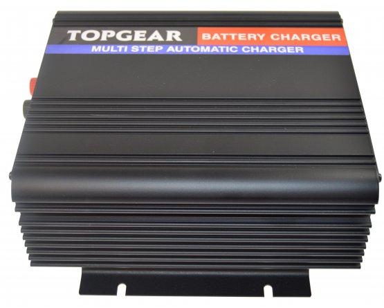 Oplader til blybatterier 2-trins 24V/10A