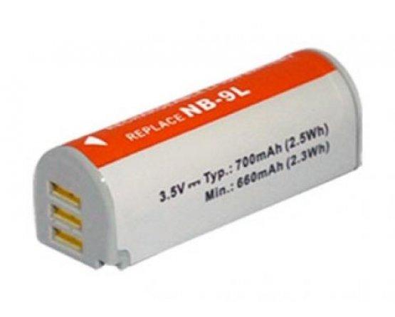 Canon IXUS 1000 HS batteri NB-9L