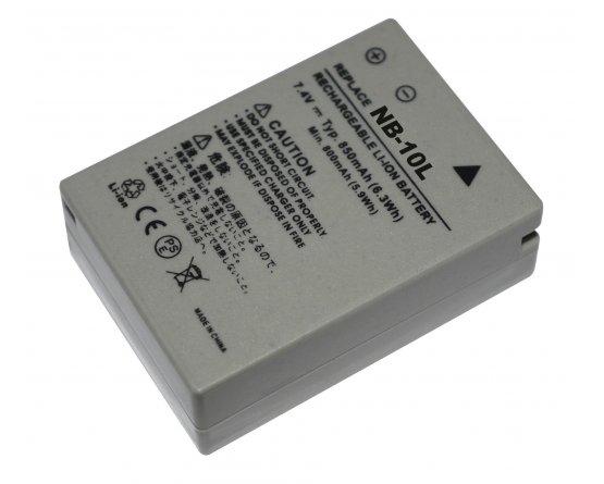 Canon PowerShot G1 X batteri NB-10L