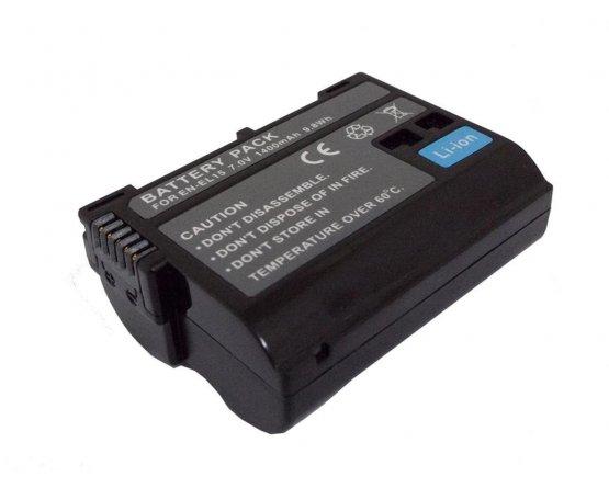 Nikon D600 batteri EN-EL15
