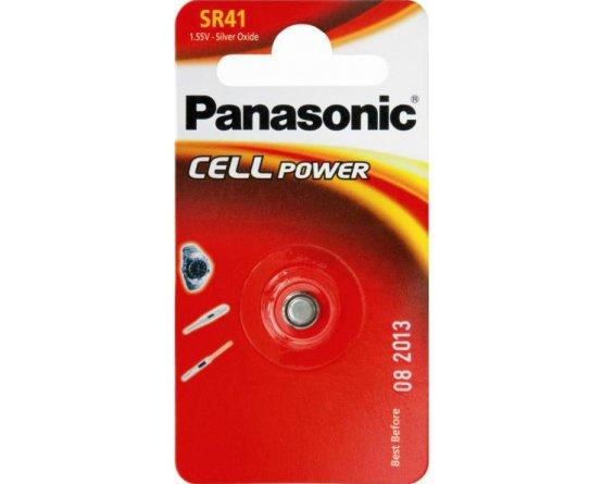 SR41 Sølvoxid Knapcelle batteri Panasonic