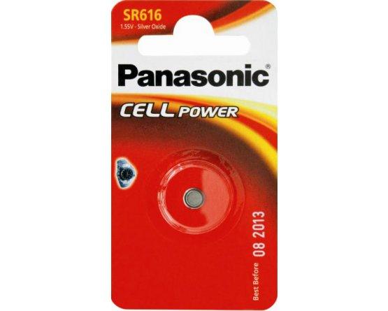 SR616 Sølvoxid Knapcelle batteri Panasonic
