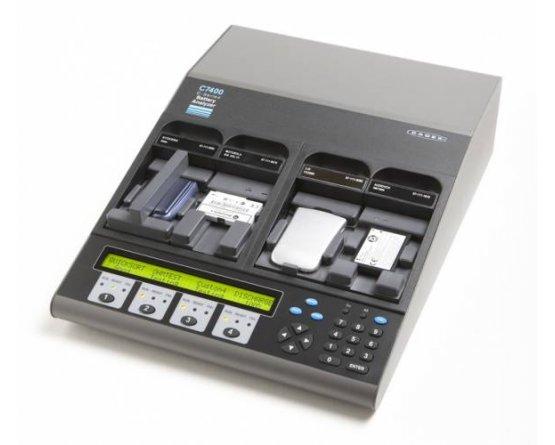 Cadex C7400 Batteritester med 4 kanaler