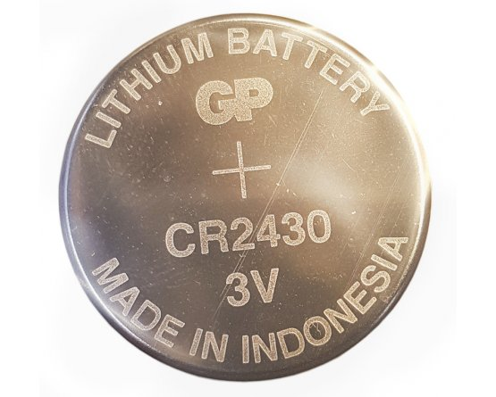 CR2430 Lithium Knapcelle batteri GP