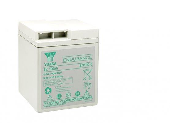 6V/108Ah Yuasa Blybatteri EN100-6