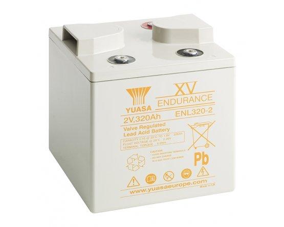 2V/345,6Ah Yuasa Blybatteri ENL320-2