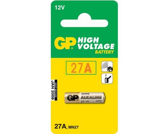 GP27A Alkaline batteri Lighter/Remote