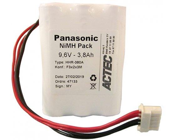 Batteripakke til Nelcor M6008-0 til Oximeter