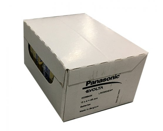 AAA/LR03 Panasonic Evolta 4Pak folie industri
