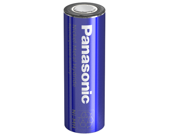 Panasonic NiMH 4/5AA batteri Flad Top