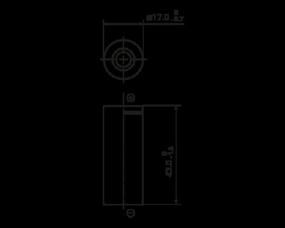 Panasonic NiMH 4/5A size (HR17/43) BK-160AH