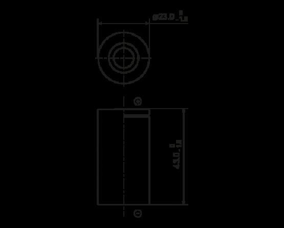 Panasonic NiMH SC size (HR23/43) HHR-300SC
