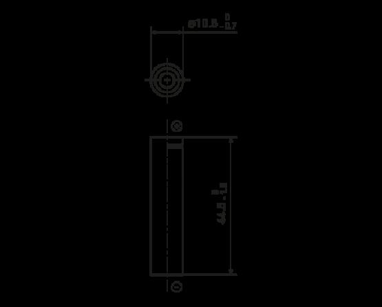 Panasonic NiMH AAA size (HR11/45) BK-60AAAW