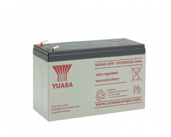 12V/8,5Ah Yuasa Blybatteri NPW45-12FR