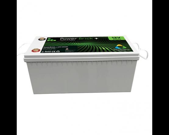 PowerBrick LiFePO4 batteri 12V/250Ah
