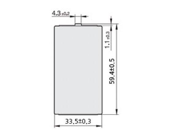 Tekcell Lithium D batteri SB-D02