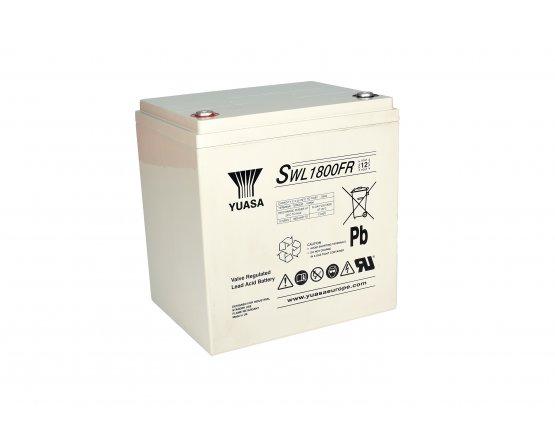12V/57,6Ah Yuasa Blybatteri SWL1800FR