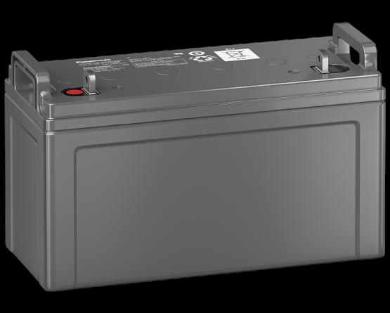 12V/120Ah Panasonic 10-12 års backup Blybatteri M6