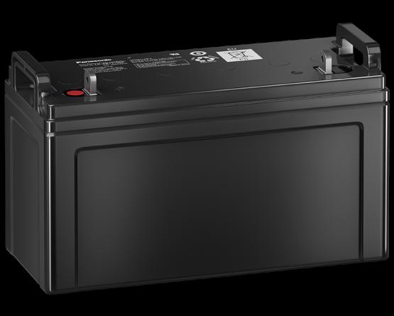 12V/100Ah Panasonic Blybatteri 10års LC-XB12100P