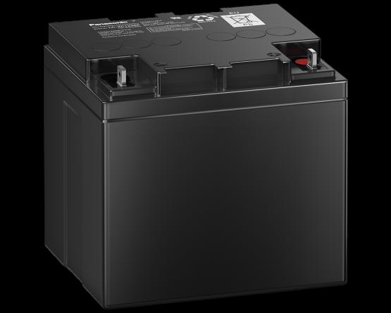 12V/38Ah Panasonic Blybatteri cycle LC-XC1238P