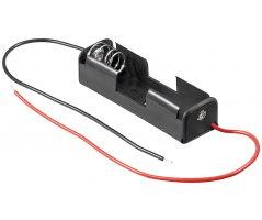Batteriholder 1xAA med ledning
