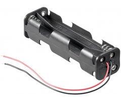 Batteriholder 8xAA med ledning