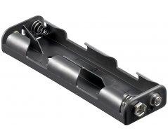 Batteriholder 4xAA med snap terminal