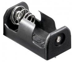 Batteriholder 1x1/2AA / CR2