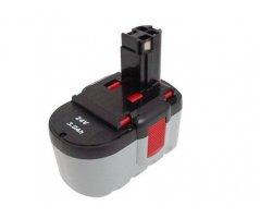 Bosch 11524 batteri 2 607 335 446 24v/3,0Ah NiMH
