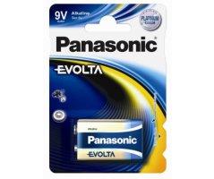 9V Alkaline EVOLTA Panasonic batteri 1stk.
