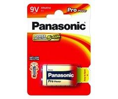 9Volt Pro Power Panasonic Alkaline